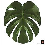 PLAGE 260212 Adhesivo de decoración para tapas de WC Sticker Smooth, Tropical, 40 x 34 cm