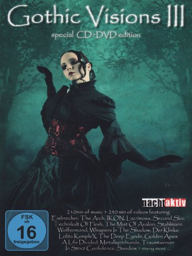 Gothic visions III (+CD) (special edition)