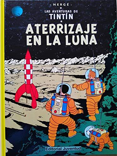 Aterrizaje En La Luna Herge-Tintin Cartone Iii Azeta. (Distrib.)