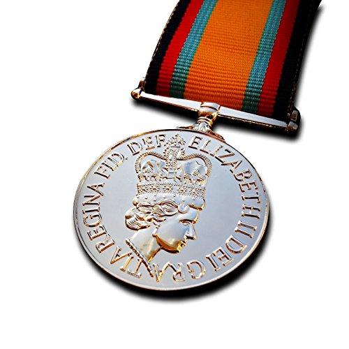 Militär Medaille Golfkrieg Medaille - britische Kampagne Medaille Kuwait und Saudi Arabien 1990 RAF Repro -