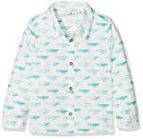 TOM TAILOR Kids Baby-Jungen Hemd Shirt/Blouse Checked/Printed 1/1, Weiß (Soft Clear White 2067), 74
