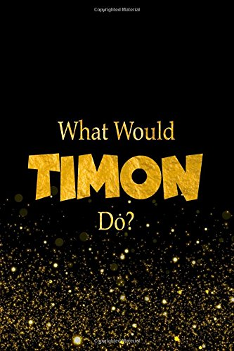 What Would Timon Do?: The Lion King Characters Designer Notebook