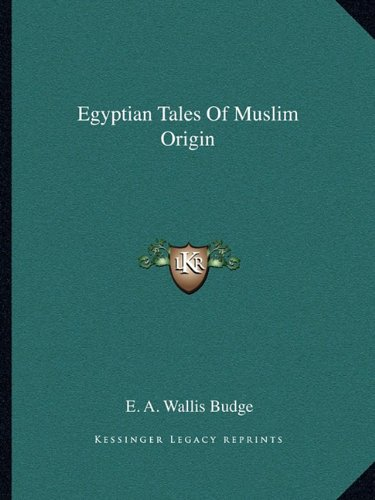 Egyptian Tales of Muslim Origin