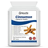 My review of Cinnamon 2000mg - 120 Tablets - by Neulife Health and Fitness