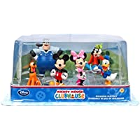 Official Disney Mickey Mouse Clubhouse 6 Figurine Playset