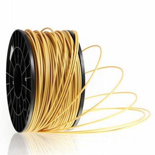 Kaisertech Filament für 3D Drucker 1kg PLA / ABS 1.75mm / 3mm - Premium Qualität & verschiedene Farben (PLA 1.75mm, Gold)