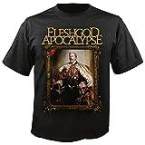 Fleshgod Apocalypse - Top - Unisex - Adulto Nero Nero