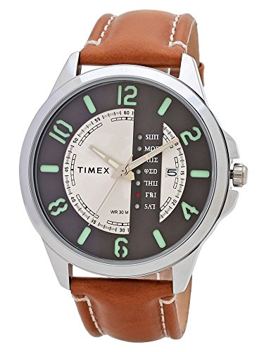 Timex Analog Silver Dial Men's Watch-TWEG16501