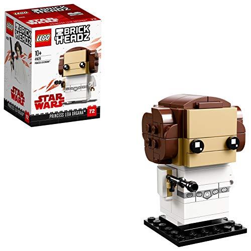 LEGOBrickHeadz Prinzessin Leia Organa (41628) – Star-Wars-Spielzeug