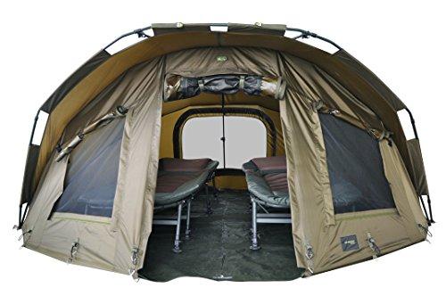 """MK-Angelsport \""""Fort Knox 2 Mann Dome\"""" Zelt Karpfenzelt Angelzelt"""