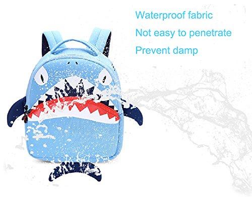 Imagen de bolsa escuela bolso escolar dibujos animados infantil viaje  para guardería primaria niño ninas azul  alternativa