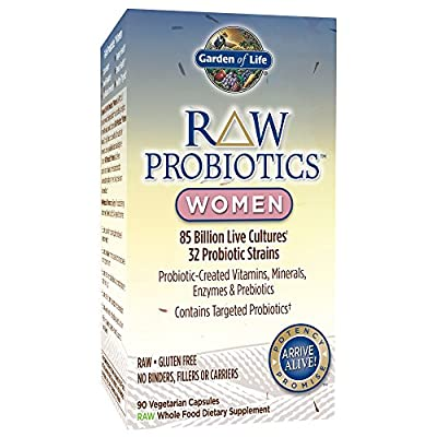 RAW Probiotics Women - 90 Vegetarian Capsules by Garden of Life