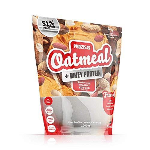 Prozis Oatmeal con Whey Protein 1000g - Cereales Repletos de Hidra