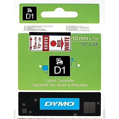DYMO D1 Standard - Cintas para impresoras de etiquetas (12mm x 7m)
