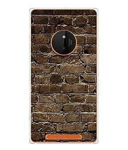 PrintVisa As Thick As A Brick High Gloss Designer Back Case Cover for Nokia Lumia 830