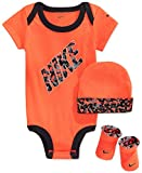 Nike Baby 3-Piece Body, Hat and Booties Set