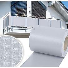 HG® PVC Valla Protectora de privacidad 65m |Estera Protectora de Intimidad Cañizo de PVC