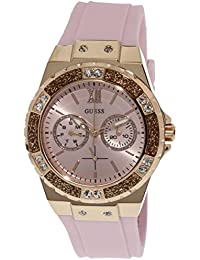 Guess Limelight Analog Pink Dial Women's Watch - W1053L3