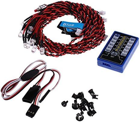 MagiDeal 12 LED RC Voiture Clignotant Clignotant Clignotant Système Lumière Pour 1:10 1: 8 Rc Rock Crawler Voiture | Extravagant  3451a8