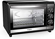 Whirlpool Magicook 18L OTG with Rotisserie, 1300W, Twin Heater, Black