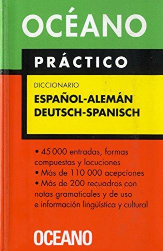 Océano Práctico Diccionario Español - Alemán / Deutsch - Spanisch (Diccionarios) por Michael Pfeiffer