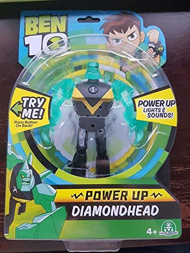 Ben 10 Figuras Deluxe Luz Y Sonidos, Power Up Diamondhead Giochi Preziosi Spagna BEN24320