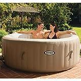 vidaXL Intex Whirlpool Aufblasbar 196x71cm Pool Spa mit Blase Massage Außenwhirlpool