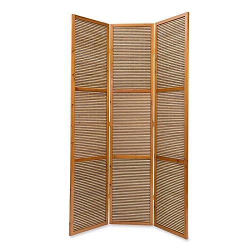 Ghorbani Raumteiler Höhe 2 m Paravent Spanische Wand Sichtschutz Sondergröße 200cmx130cm