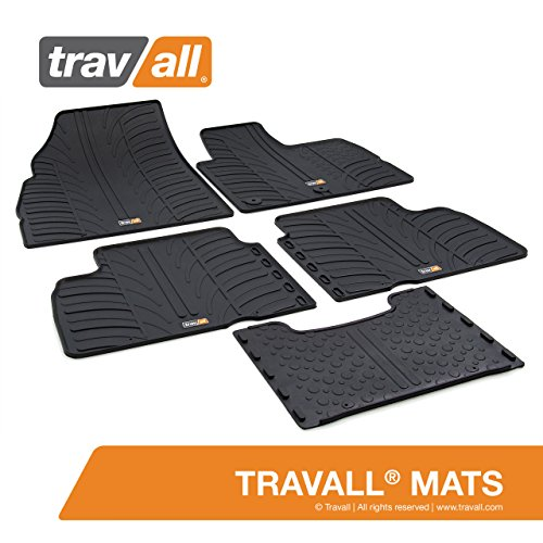 5 Piece Pc 5Pc Rubber Car Mats Floor Set For Toyota Auris Sports Estate 2013 On