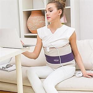 Fernen Infrarot-Vibrations-Massage-Gürtel, Elektrische Heizung Warm Bauch, Taille, Schmerzen Zu Lindern