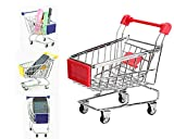 #5: Geekmonkey Miniature Shopping cart Desk Organiser Card Holder (Random Colour)