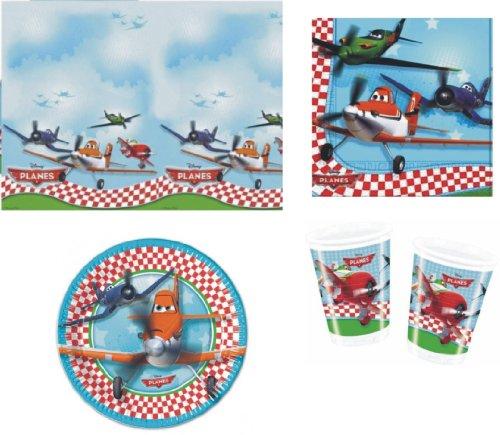 rty Geschirr Packung Servietten Teller Tassen Tischdecke ()