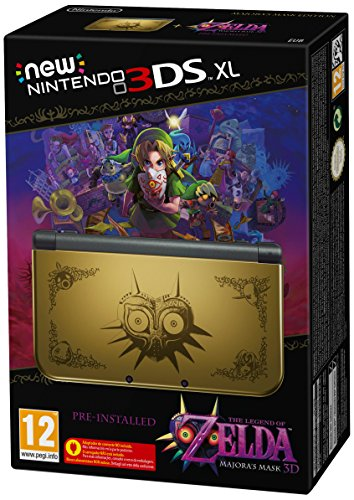 New Nintendo 3DS XL: Console + Zelda: Majora's Mask [Bundle Limited]
