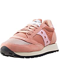 Sneaker Saucony Jazz Vintage in suede e nylon rosa