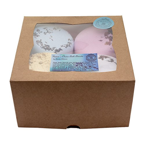 bath-bomb-gift-set-4-x-200gm-handmade-in-the-uk-bathbomb-biscuits-bath-fizzies-in-natures-scents-wit