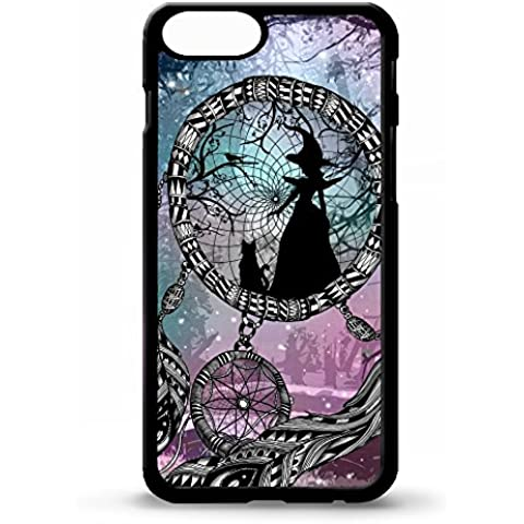 Cover per Iphone 5/5S, motivo: acchiappasogni, motivo: strega sorceress magic