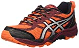 Asics Herren Gel-Fujitrabuco 5 Trail-Schuhe, Arancione (Flame Orange/Silver/Pomegranate), 47 EU