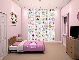 Walltastic 42957 La Reine des Neiges de Disney  Peint Mural Papier Multicolore 12 x 7 x 52,5 cm