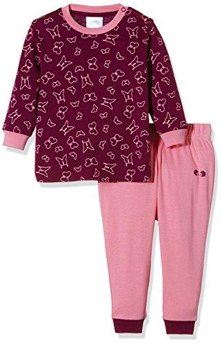 Twins Baby-Mädchen Zweiteiliger Schlafanzug mit Schmetterling Druck, Violett (Purple Potion 820103), 86