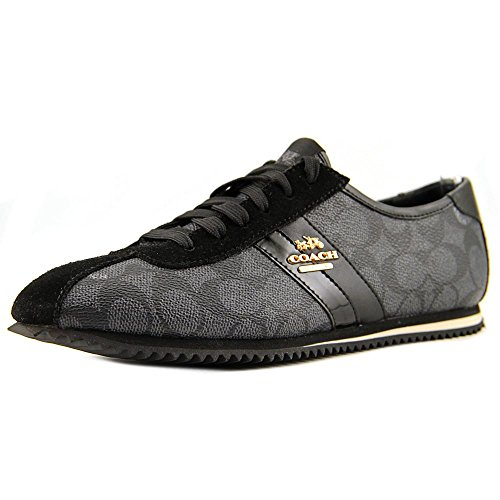 Coach Ivy Signature Sneaker Black