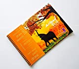 #8: Waterproof Art Pad YUPO A4-25sheets (Elephant Design) - Watercolor, Alcohol Ink, Acrylic