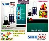 Nutri Blender | Mixer Grinder Juicer | Nutiblender | Nutri Bullet | Nutri Bullet Blender | By ShineStar | Covered Under Amazon 100% Purchase Protection