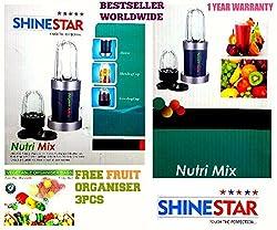 Nutri Blender   Mixer Grinder Juicer   Nutiblender   Nutri Bullet   Nutri Bullet Blender   By ShineStar   Covered Under Amazon 100% Purchase Protection