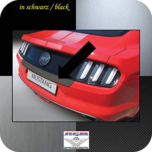 Richard Grant Mouldings Ltd. RGM Protection de seuil de Chargement pour Ford Mustang VI Coupé et Cabriolet année de Construction 01.2015-12.2017 (Version Courte) RBP670 Noir