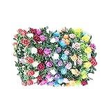 Mädchen-Haarband mit Blumenkranz, 12 Farben