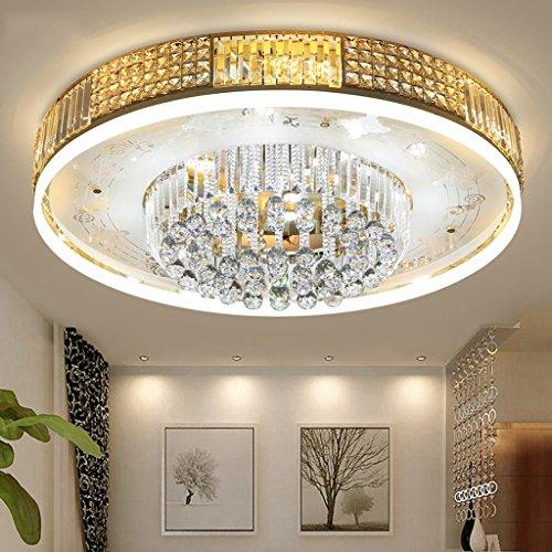 Preisvergleich Produktbild LED Wohnzimmer Schlafzimmer Zimmer Runde Europäische Kristall Deckenlampe (tragen die Lichtquelle, mit Fernbedienung)