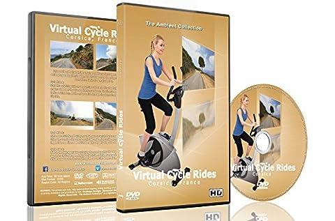 Virtuelle Fahrradstrecken - Korsika Frankreich - für Indoor-Cycling, Laufband und (Collection 4 Dvd-set)