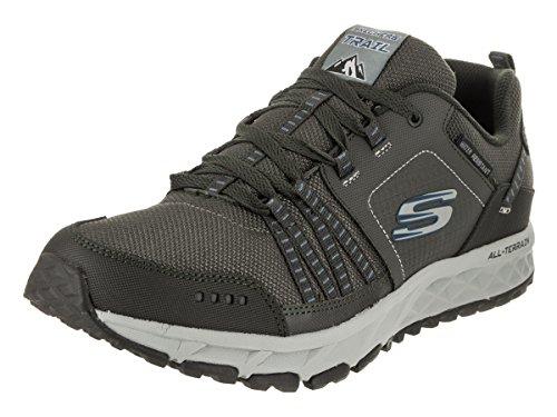 Skechers Men's Escape Plan Pewter Hiking Shoe 11 Men US