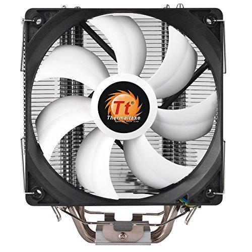 Thermaltake Contac Silent 12 - Ventilador de CPU, Color Negro
