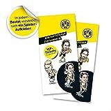 BVB-Haftsticker, zum Sammeln, Tauschen und vor allem Gewinnen!